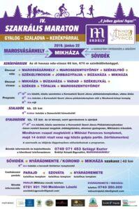 Szakrális Maraton - Mikháza - plakát 2019